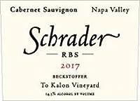 シュレイダー RBS カベルネソーヴィニヨン ベックストファー ト カロン[2017] シュレーダー [ 赤ワイン カリフォルニアワイン ナパバレー ナパヴァレー ]