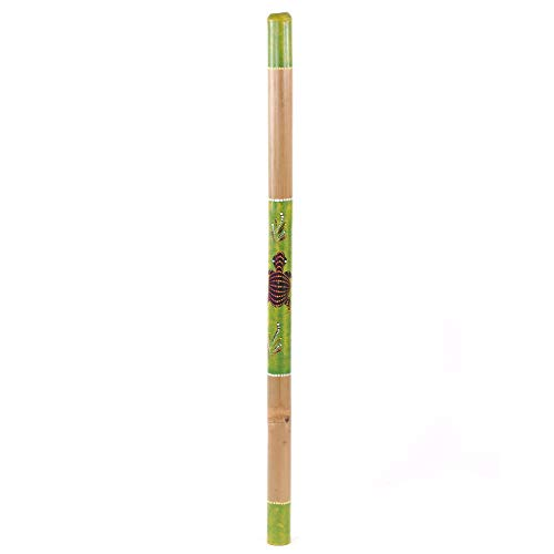 DESIGN DELIGHTS BLASINSTRUMENT Didgeridoo | 120x5cm (LxØ), Bambus, handbemalt | besonderes Musikinstrument mit Bemalung