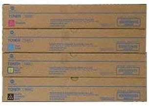 KONICA MINIOLTA TN-324 Laser Toner Cartridge Set Black Cyan Magenta Yellow