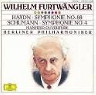 Furtwangler Haydn Symphony 88 / Schumann Symphony 4 DG
