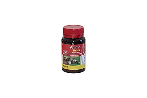 Strangest Anima-Strath Suplemento Nutricional para Animales de compañía | Fortificante Natural con Levadura de Cerveza | Mejora energía y Vitalidad | Apoya Sistema Inmune | 120 Comprimidos