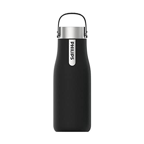Philips - GoZero Smart UV borraccia per idratazione, 590 ml, colore: Nero