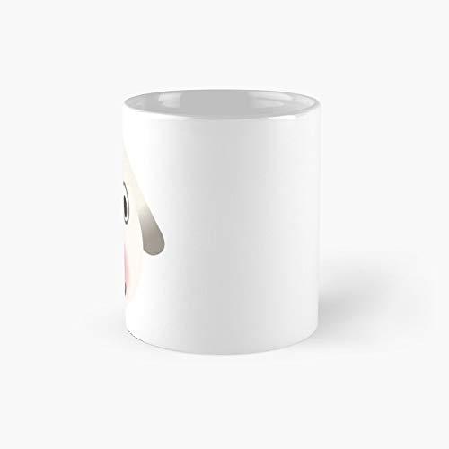 Taza clásica con diseño de huesos de animales cruzando | El mejor regalo divertidas tazas de café de 325 ml