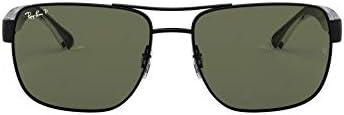 Ray-Ban Men's Rb3530 Metal Square Sunglasses