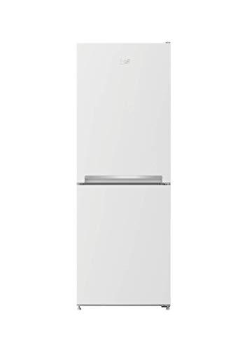 Beko RCSA240K30WN - Nevera y congelador independiente, 3 cajones de 38 dB, color blanco