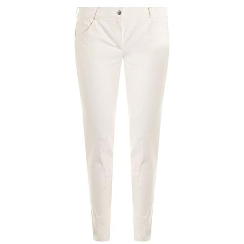 John Whitaker Damen Lane Birch Jodhpurs Reithose Slim Creme 34 in
