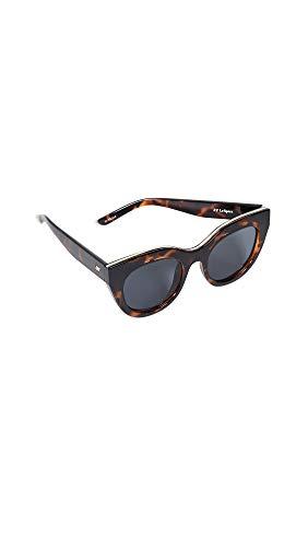 Le Specs Da Donna occhiali da sole Air Heart Marrone Unica Taglia