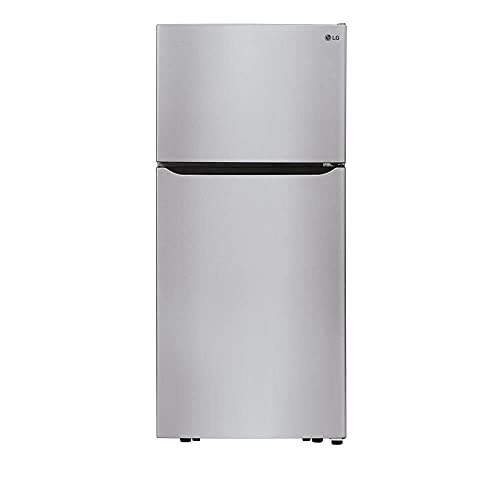 LG Electronics 30 in. 20.2 cu. ft. Top Freezer Refrigerator with LED Lighting, SmartDiagnosis and Multi-Air Flow in Stainless Steel