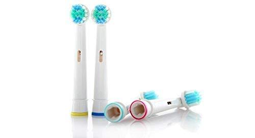 ShopINess Recambios Compatibles con cepillos eléctricos Oral B Precision Clean (Pack de 8 unidades)