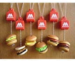 モスバーガー ゆらゆら バーガースイング 全6種 ミニチュア 全6種 1 モスバーガー2 モスチーズバーガー3 て