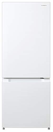 日立冷蔵庫154L2ドア右開き幅47.9cm奥行58.0cm「こものバスケット」つきアイボリーホワイトRL-15KAW
