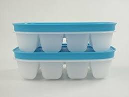 Tupperware eiswürfler cada uno para 12cubitos de hielo de cristal de hielo...