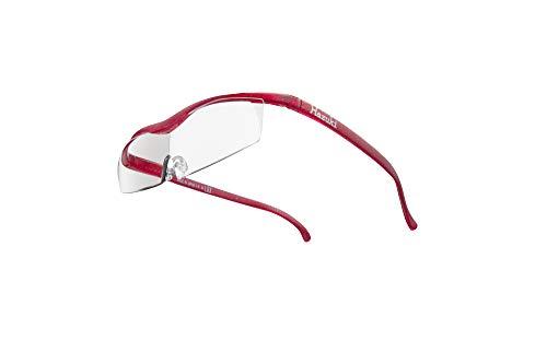 Hazuki ハズキルーペ 直営店 公式店 限定 倍率交換保証付き コンパクト 1.32倍 クリアレンズ ルビー ハズキ 拡大鏡 ルーペ メガネ型 眼鏡型 めがね型 メガネ 眼鏡 めがね 日本製 MADE IN JAPAN ギフト