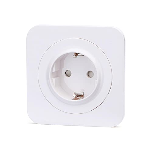 Aigostar Enchufe de pared Toma de Corriente, Intensidad de 16A a 250V, En Color blanco