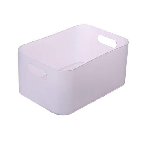 DIYARTS Caja de Almacenamiento Esktop, Canasta de Almacenamiento de escombros domésticos de una Sola Capa para organización de Almacenamiento de cosméticos de papelería
