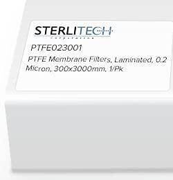 Fees free!! Luxury goods PTFE023001 - Sterlitech 300 x Laminated 0.2 Micron 3000mm PTFE