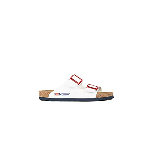 Geographical Norway GNW20417-17_40, Slides Femme, Blanc