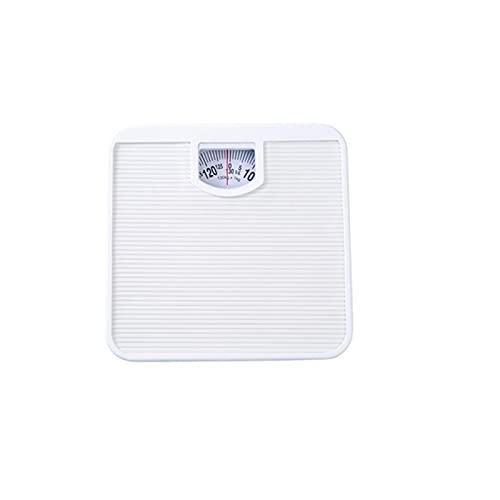 Akaid Báscula de baño mecánica, Pantalla ampliada de fácil Lectura, Utilizada para un pesaje preciso, medición en Unidades de St, Lbs, Kg