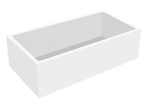 Calmwaters® - Modern Square - Badewannenträger aus Styropor für rechteckige Badewannen in 170 x 75 cm - 03AX3359