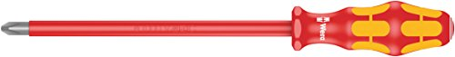Wera 05006158001 Screwdriver for Phillips Screws'162i PH VDE' Insulated PH 4x200mm