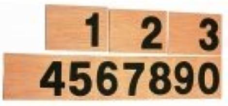 Números en lija (nardil)