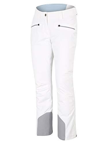Ziener Damen TAIRE Ski Snowboard-Hose, White, 42 (L)