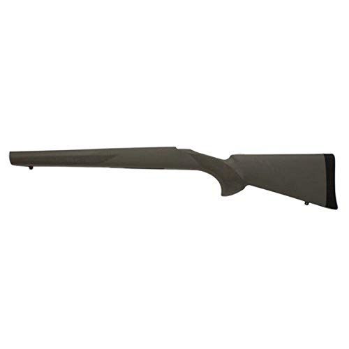 Hogue 15203 Howa 1500/Weatherby Long Action Stock, Standard Barrel Full Bed Block Olive Drab Green