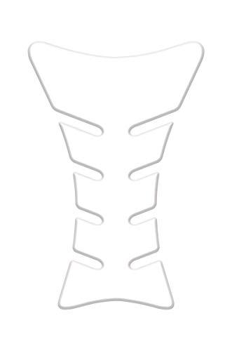 Quattroerre Protection Réservoir Adhésive 3D pour Motos Sport, Transparent, 20 x 13 cm