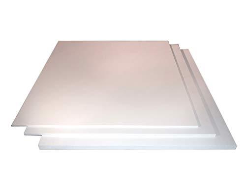 2-10mm PVC Hartschaum Platte Hartschaumplatte weiß Kunststoff Platte Zuschnitt