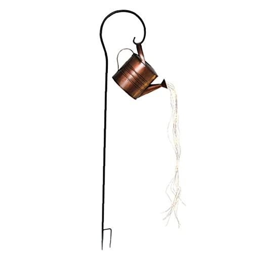 Hainice Poder de riego de la lámpara de la luz del jardín Estrellada Hada de la Noche Luces LED Arte Decorativo romántico para el Patio al Aire Libre del césped