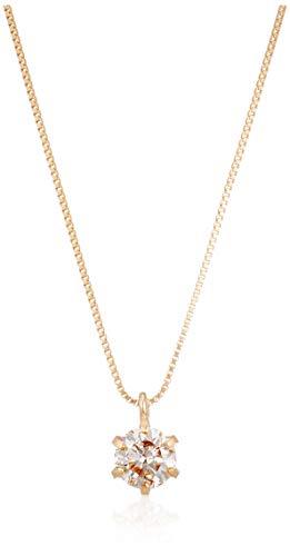 [ディーコレクション] ダイアモンド ネックレス D15042065 イエローゴールド