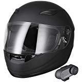 AHR RUN-B Bluetooth Motorcycle Full Face Helmet Wireless Headset...