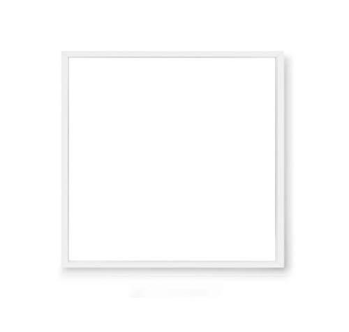 300x300mm -LED Panels- 18w, 3000k,4000k,6000k - Notfall Beleuchtung/Lichter - Deckenleuchte-Bürobeleuchtung - nicht dimmbar - Weißer Rahmen - IP40 (Warmweiß/3000k)