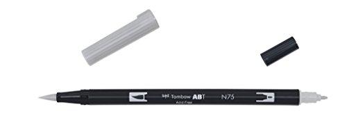 Tombow - Rotulador con doble punta, color gris frío 3