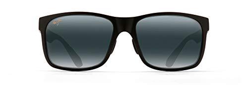 Maui Jim Herren 432-2M Sonnenbrille, Negro Mate, 59/17/140