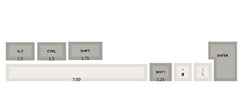 juqingshanghang1 8/104pcs Keycaps Dicke PBT-Tastencaps Farbstoff-Sub-Set für mechanische Gaming-Tastatur Geeignet für Computerperipheriegeräte (Color : Extras)