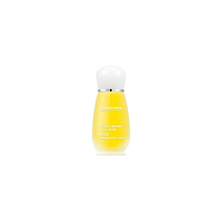 デザイナー控えるスプーンDarphin Rose Aromatic Care (15ml) (Pack of 6) - 芳香ケア(15ミリリットル)をバラダルファン x6 [並行輸入品]