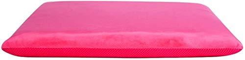 Memory-Foam-Rollstuhlkissen, orthopädische Sitzkissen, Autositz, entlasten Rücken, Ischias, Schmerzen, gelten für Bürostühle,Pink