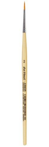 daVinci GH3032 Junior Synthetics Malerpinsel, rund Serie 303, Größe 2