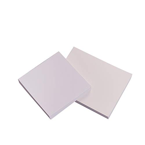 100 Sheets Dental Mixing Pads, Disposable Poly Coated (Small, 3'' x 3'')