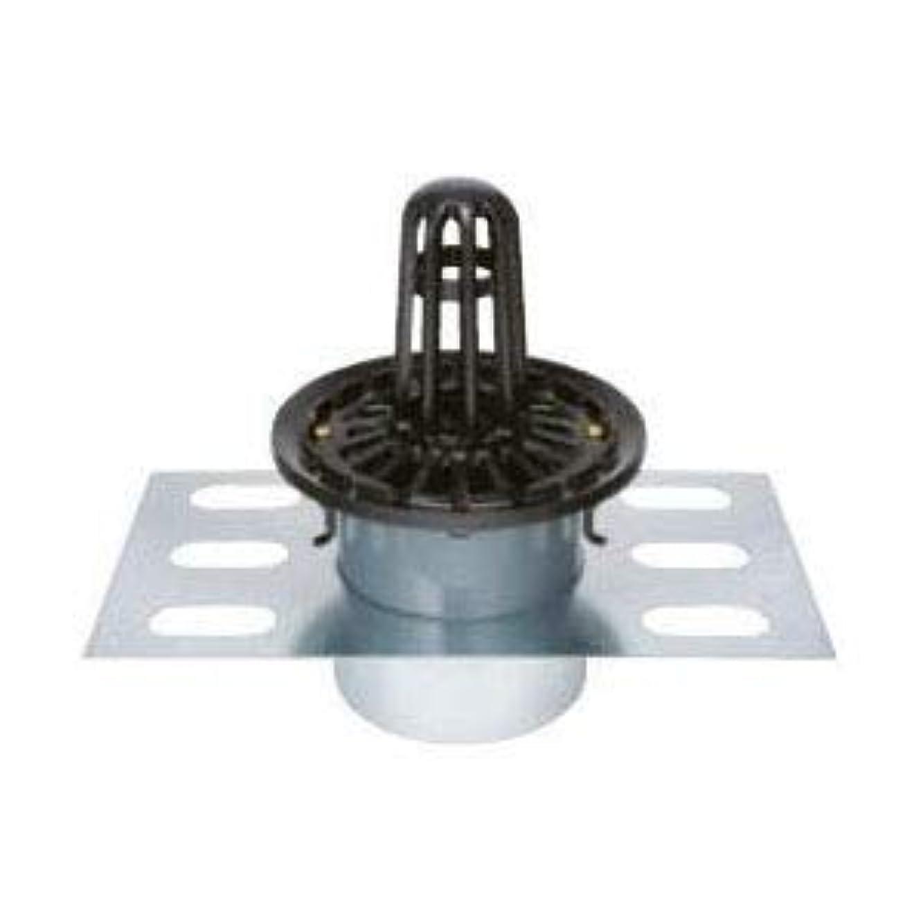 過半数受粉者ゆるくカネソウ 鋳鉄製ルーフドレイン たて引き用 デッキプレート打込型 屋上用(呼称150) EDMP-2-150