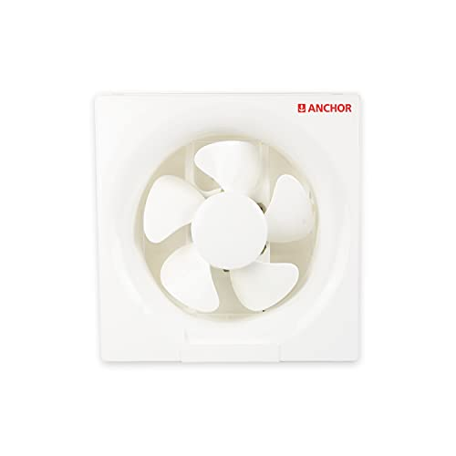 Anchor by Panasonic Smart Air 250mm Ventilation Fan  Exhaust Fan for Home, Office, Kitchen and Bathroom (White)