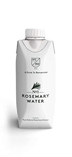 No.1 Botanicals Rosemary-Wasser – Erfrischendes Sprudelwasser mit Zitronenverbene-Extract - Zuckerfrei, Keine Künstlichen Süßstoffe – Softdrink oder Cocktail Mixer 12 x 330ml Tetra