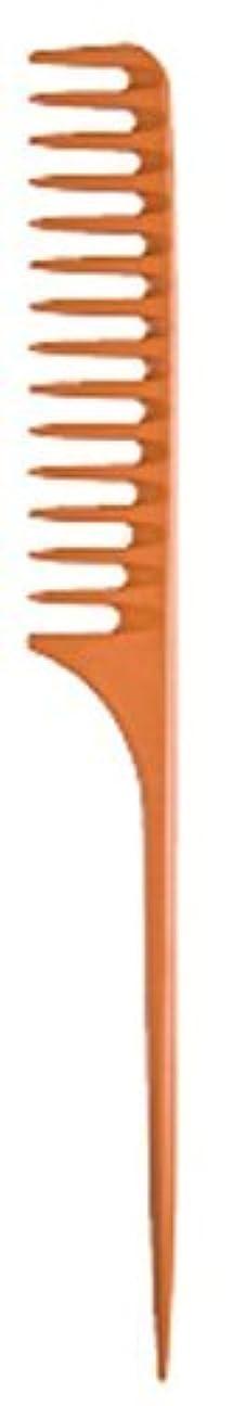 世界的にコミットブームDiane Large Tail Comb Dozen, Bone, 11.5 Inch [並行輸入品]
