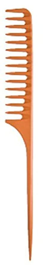 意外負荷底Diane Large Tail Comb Dozen, Bone, 11.5 Inch [並行輸入品]