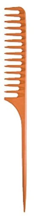 わずらわしいベアリングサークルアルプスDiane Large Tail Comb Dozen, Bone, 11.5 Inch [並行輸入品]
