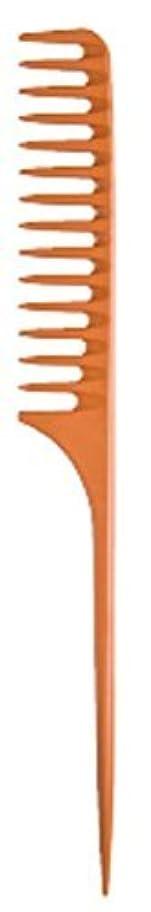 断線隠コードレスDiane Large Tail Comb Dozen, Bone, 11.5 Inch [並行輸入品]