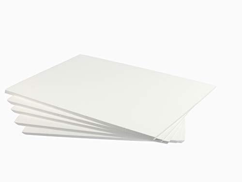 ZADAWERK® Styroporplatten - 30x42x1 cm - DIN A3-10 Stück - Isolierung - Wand