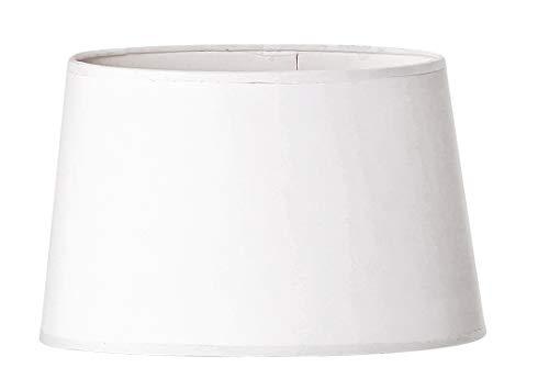 VBS Lampenschirm weiß oval rund verschiedene Größen blanko Landhaus Vintage Papierschirm