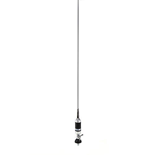 Sirio 2204206.01 Antenne CB Super Carbonium 27, 140cm mit Kabel im Lieferumfang enthalten Schwarz